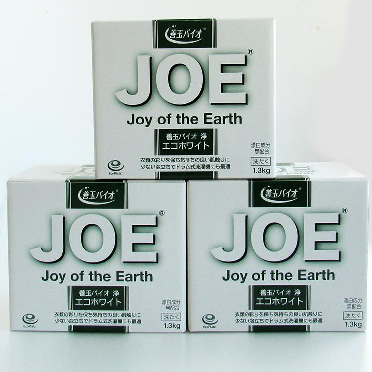 クリーニングのプロが開発した環境にも肌にも優しい家庭用エコ洗浄剤「善玉バイオ 浄(JOE)」