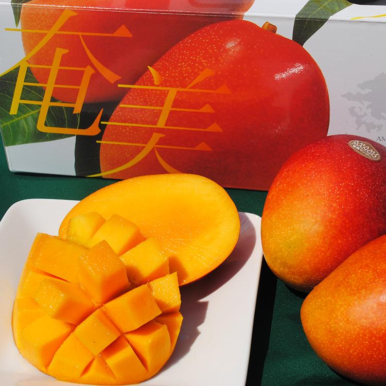 奄美大島の亜熱帯気候で育った「完熟マンゴー」