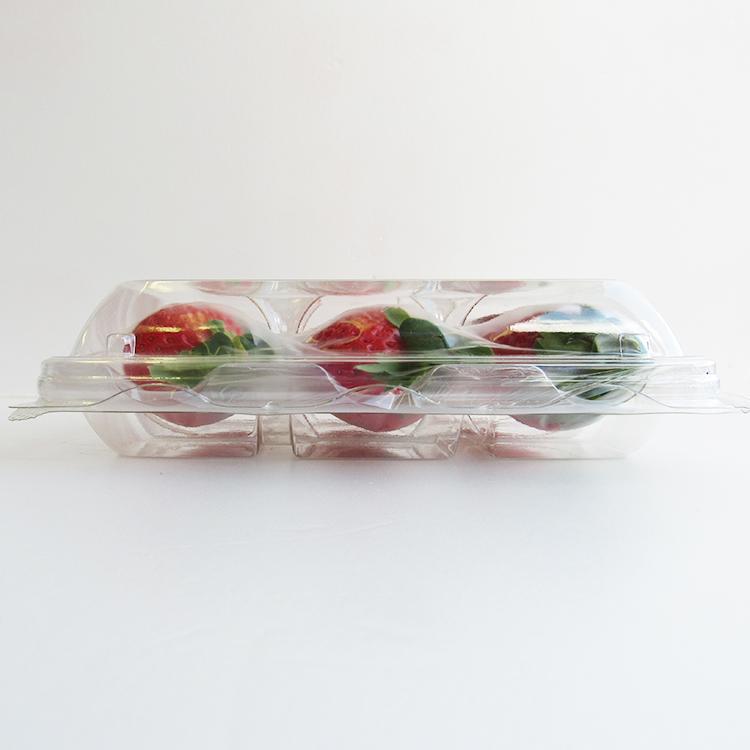 苺をやさしく守る包装なので、完熟ギリギリの出荷を可能にする