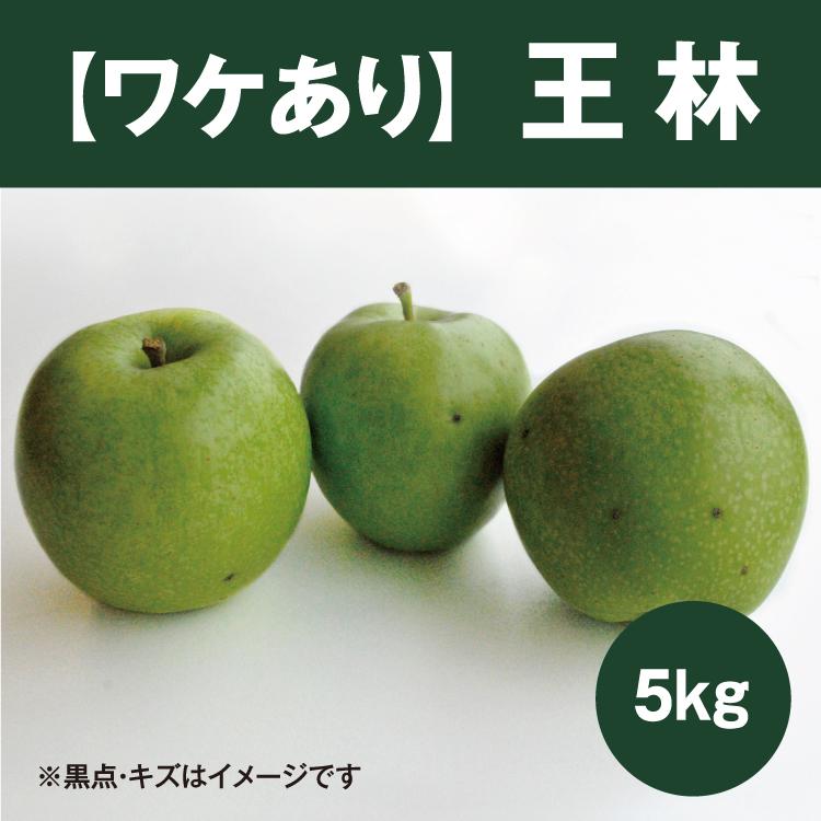 【ワケあり】王林(おうりん)5kg