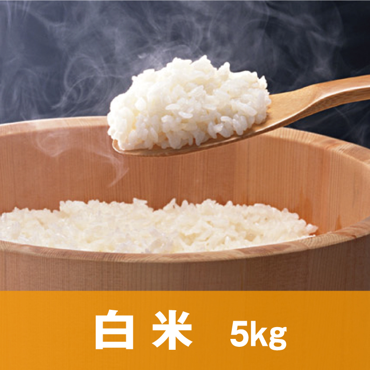 自然純米【白米】5キロ