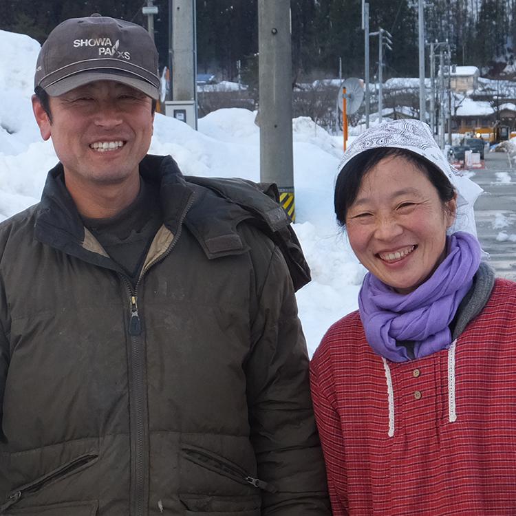 生産者の野村さん夫妻