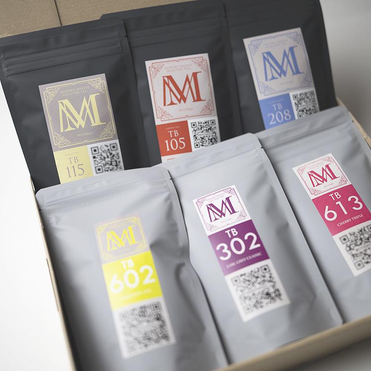 ティーブレンダーが選んだ世界の紅茶飲み比べ6種セット