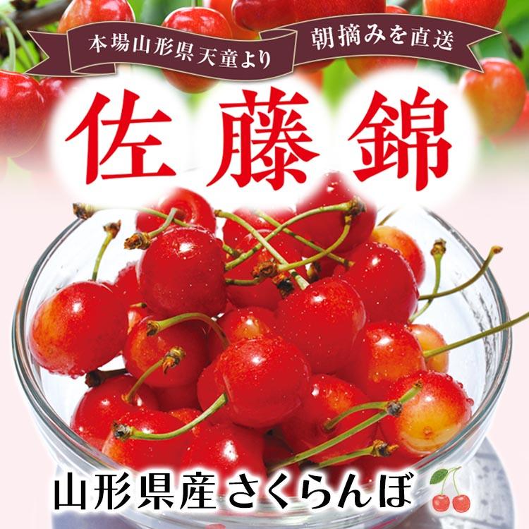 山形県産 さくらんぼ「佐藤錦」(バラ詰1キロ)