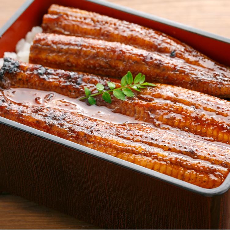 秘伝のタレで焼き上げる四万十うなぎの蒲焼きはまさに絶品です。